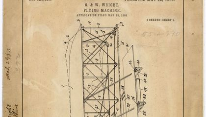 Where is the Wright Brothers' Patent?