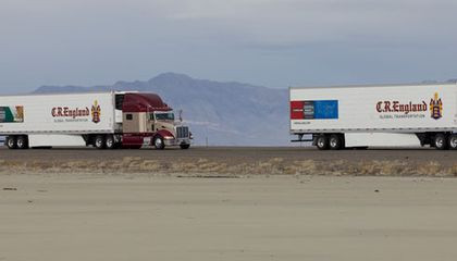 Robotic Truck Convoys Could Change All Kinds Of Transportation