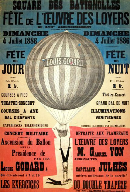 1886 airshow poster