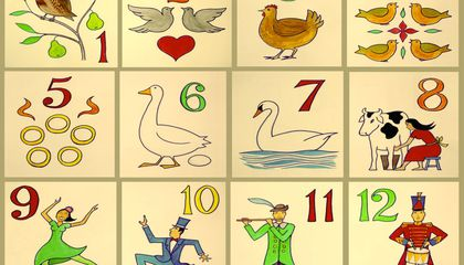 Christmas Words A Z.12 Facts About The 12 Days Of Christmas Smart News