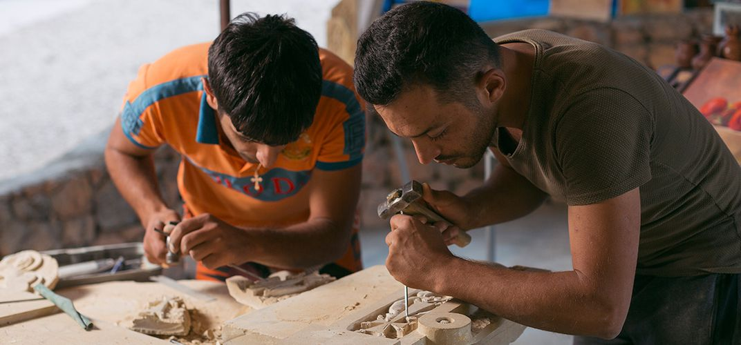 Caption: Keeping Armenia's Stone Carving Tradition Alive