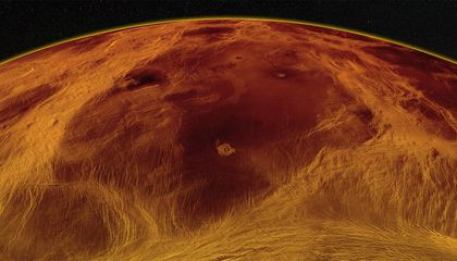 Venus May Still Be Geologically Active