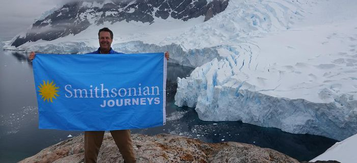 Smithsonian Journeys traveler on an Expedition to Antarctica