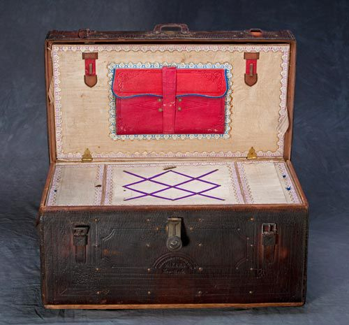 George T Garrison trunk