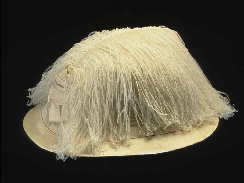 Ostrich Feather Hat, 1910-1912