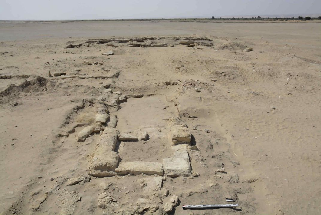 Archeologists discover ancient gymnasium near Egypt's Cairo