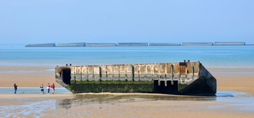 Beach at Arromanches