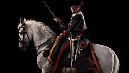 Relive the Battle of Waterloo With These Astonishing Portraits of War Reenactors