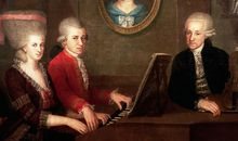 Maria Anna Wolfgang and Leopold Mozart