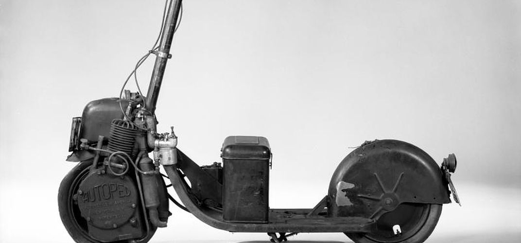 Caption: The Motorized Scooter Boom of the Early 1900s