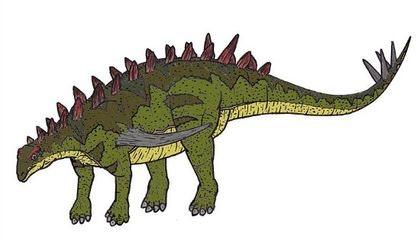 G is for Gigantspinosaurus