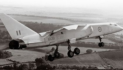 The British Aircraft Corporation TSR-2