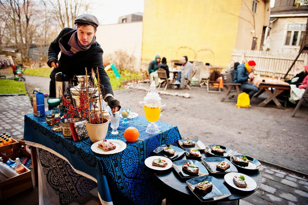 On Restaurant Day In Helsinki Unofficial Pop Up Eateries
