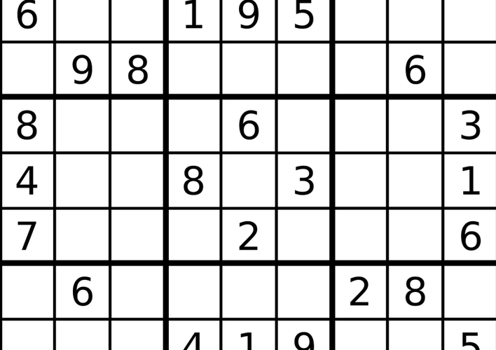 Caption: Daily Sudoku