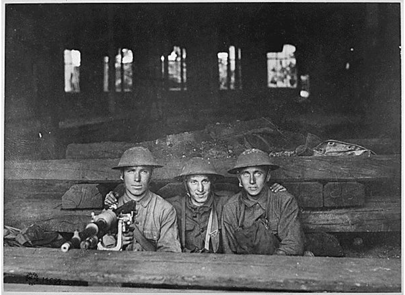 WWI Troops