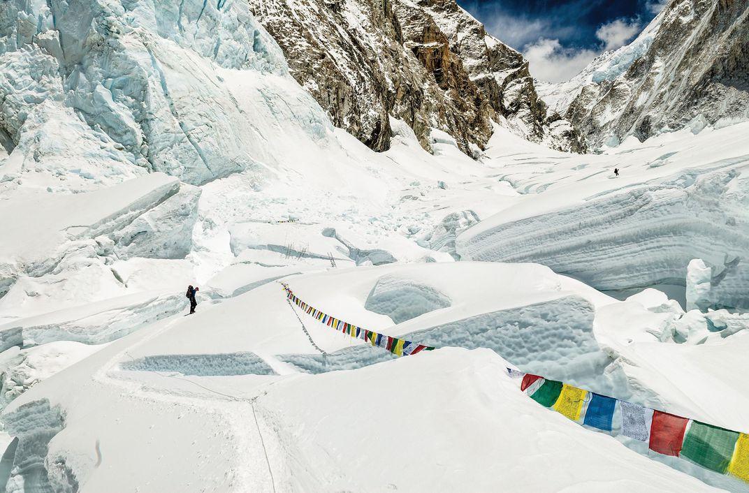 Valley of Silence, Khumbu  Icefall, Mount Everest, Nepal