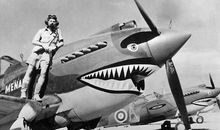 How the Curtiss P-40 Got That Wicked Shark Grin