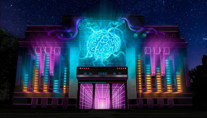 See the Electrifying Art Lighting up This Year's LUMA Projection Arts Festival