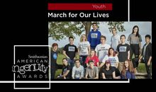 Smithsonian Ingenuity Award Winners: March for Our Lives Students