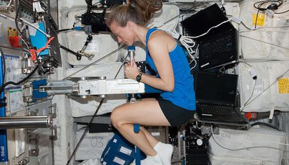 How Do Astronauts Weigh Themselves in Space?