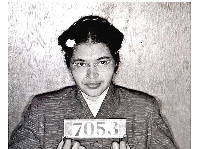 Rosa Parks Booking Photo