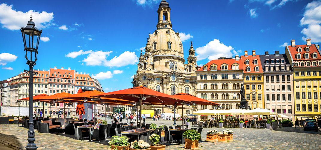 Square in Dresden