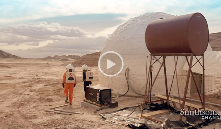 Inside Look at the Mars Simulation Project in Utah