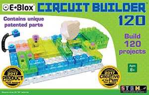 Preview thumbnail for 'E-Blox Circuit Builder 120 Building Set