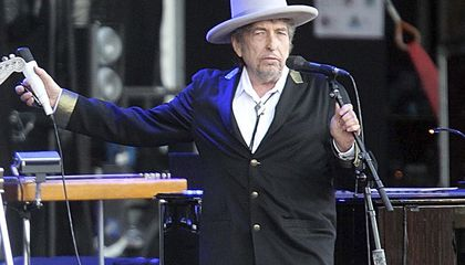 Image:  American songwriter Bob Dylan wins Nobel Prize in literature