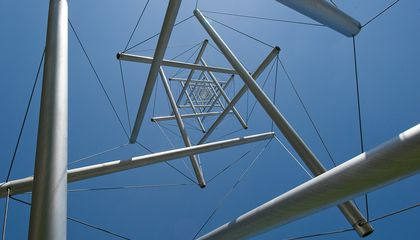 """How Does the Hirshhorn's 60-Foot """"Needle Tower""""  Stay Upright In A Stiff Wind?"""