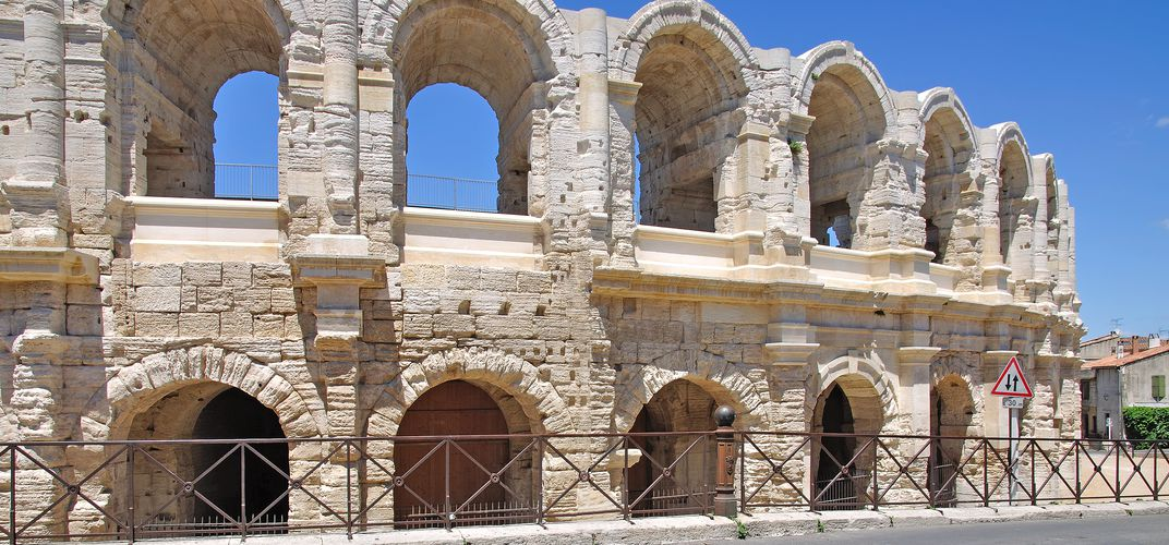 The Roman amphitheater of Arles