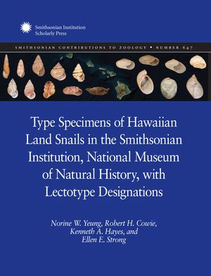 Type Specimens of Hawaiian Land Snails in the Smithsonian Institution, National Museum of Natural History, with Lectotype Designations photo