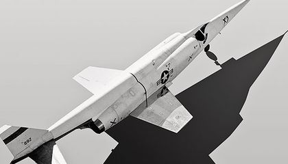Possibly the world's pointiest jet