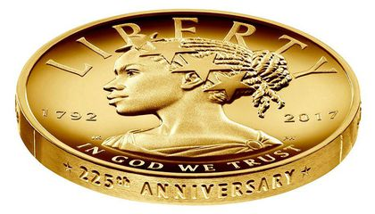 New $100 Coin Features First-Ever African-American Lady Liberty