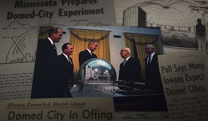 The Minnesota Experimental City Nearly Got Built