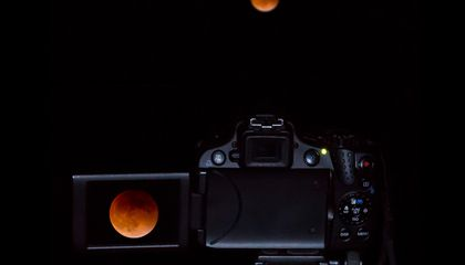 The Photos of the Rare Supermoon/Lunar Eclipse Convergence Do Not Disappoint