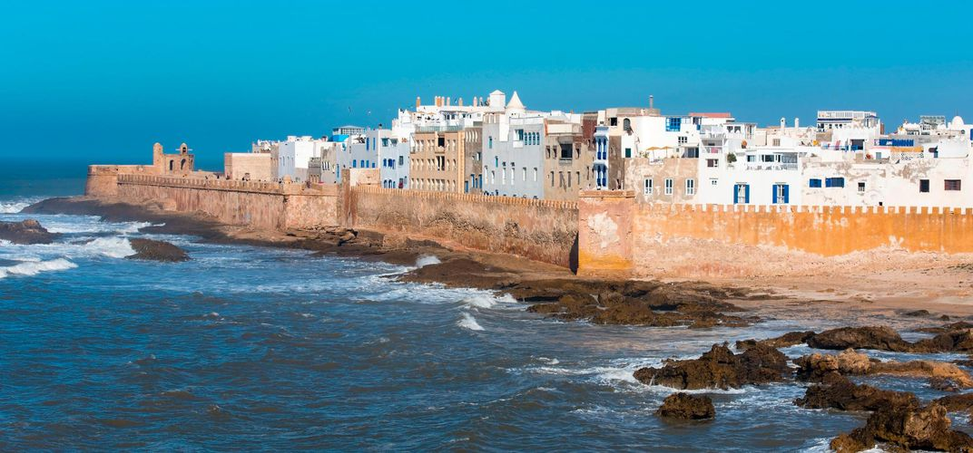 Coastal scene of Essaouira