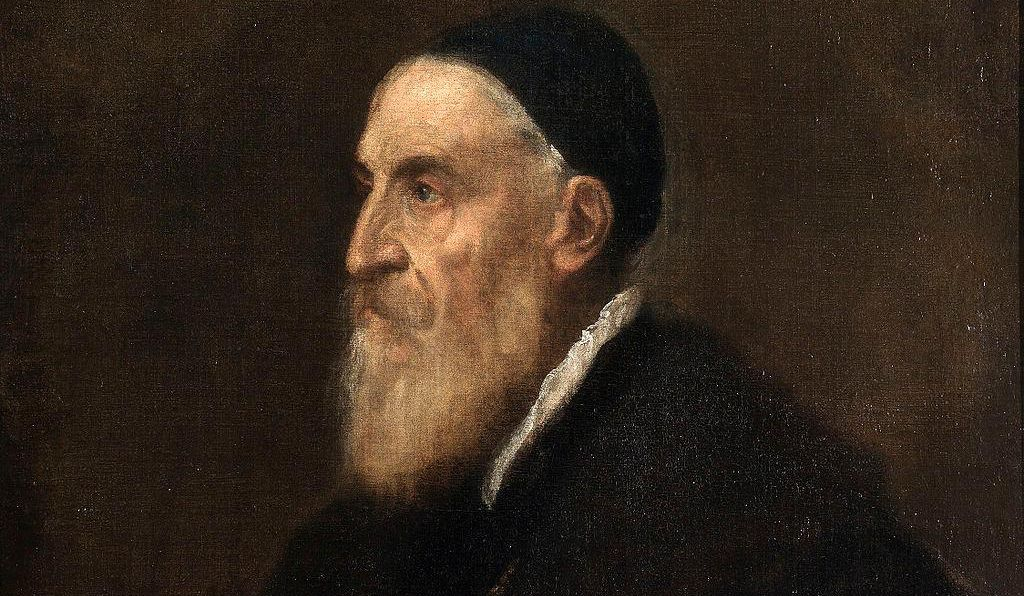 A self-portrait of Titian dated to around 1567