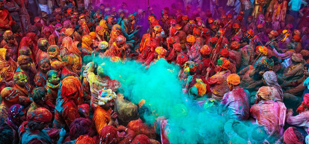 Caption: The Meaning Behind the Many Colors of India's Holi Festival