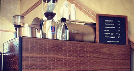 Cognoscenti Coffee pop-up at the Hotel Normandie