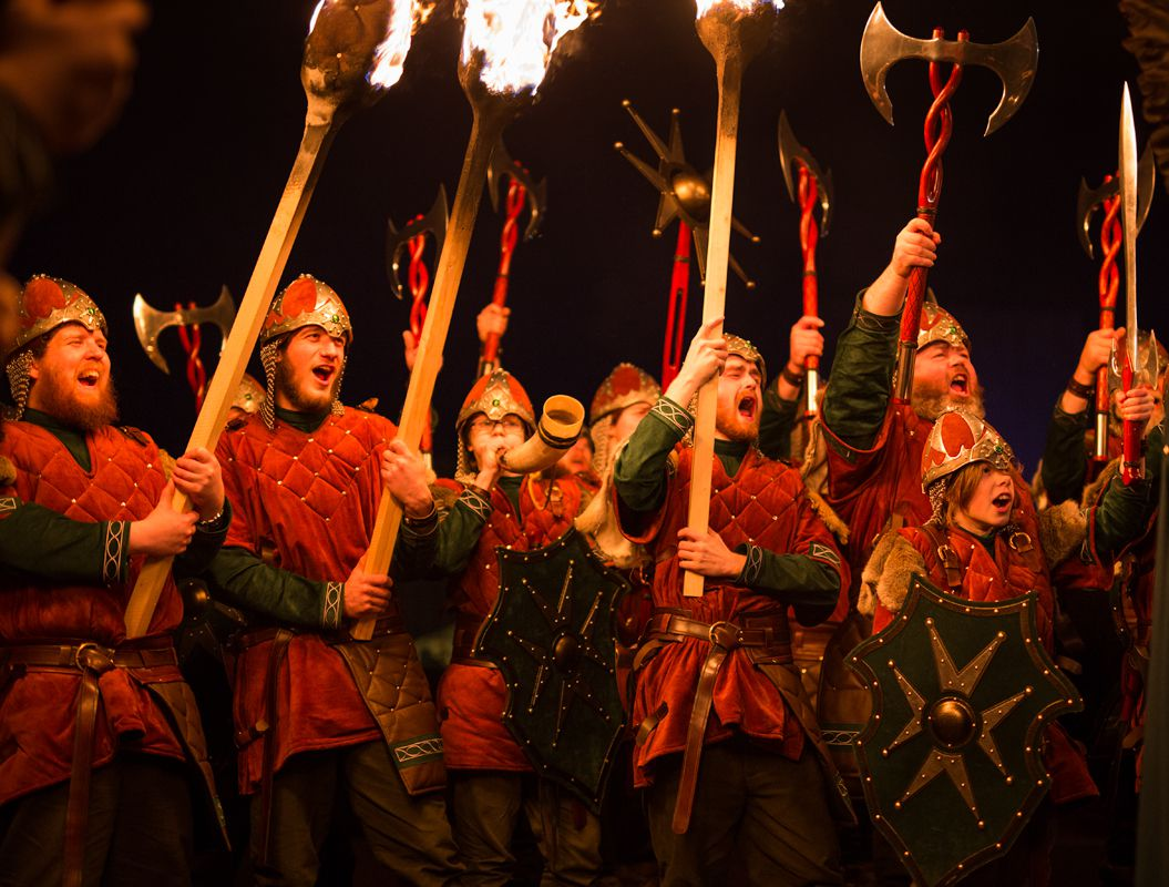 Vikings Storm the Streets at Up Helly Aa, Europe's Biggest Fire Festival (Photos)