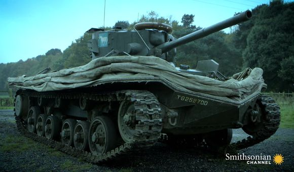 Preview thumbnail for video'This Inventor Made the Famed D-Day Swimming Tanks