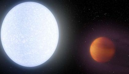 Researchers Discover a Planet That's As Hot As a Star