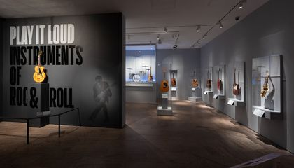 From Buddy Holly to Lady Gaga, the Met's New 'Play It Loud' Exhibit Features the Instruments of Rock and Roll Greats