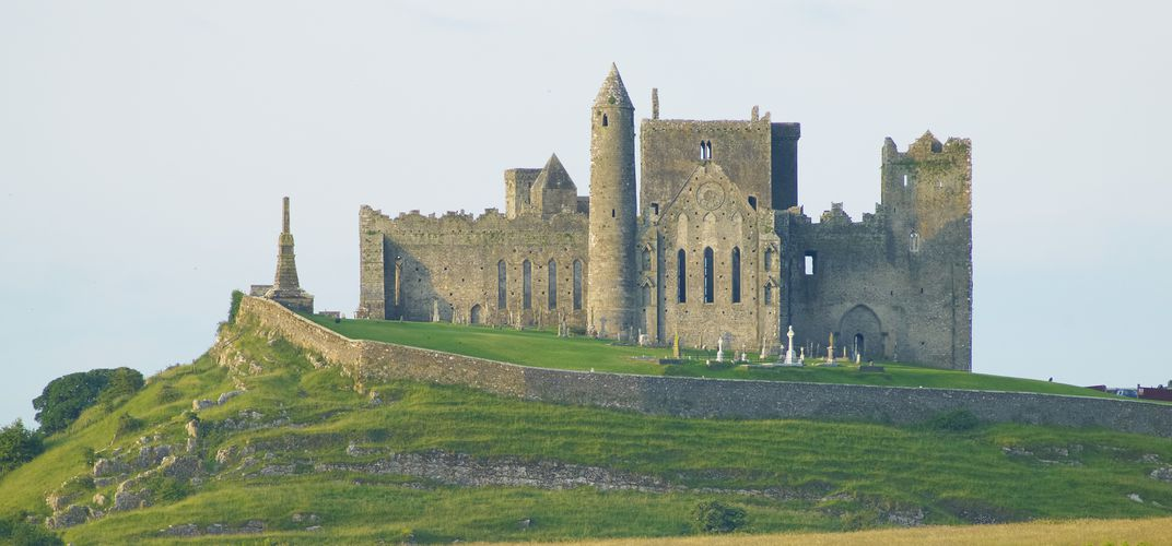 The Rock of Cashel, the traditional seat of the Kings of Munster