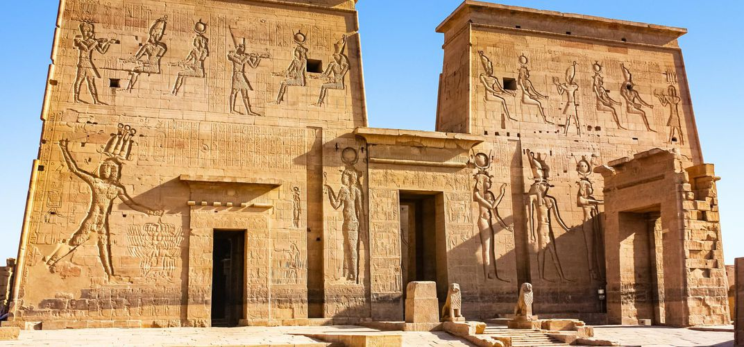 The Temple of Philae, near Aswan