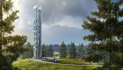 Building the Flight 93 Memorial's Massive Chime Tower