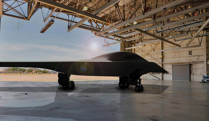 The Air Force Spills Some Secrets About the B-21
