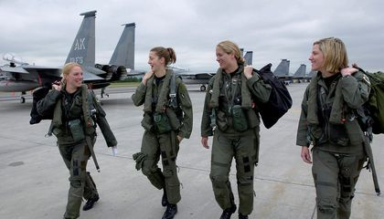Who's depressed? Not military pilots