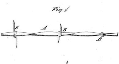 Barbed Wire patent